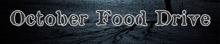 October Food Drive